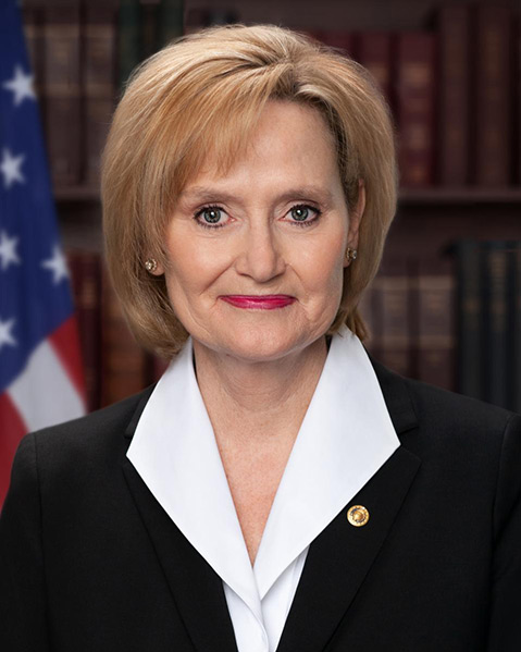Official Photo of Senator Cindy Hyde-Smith
