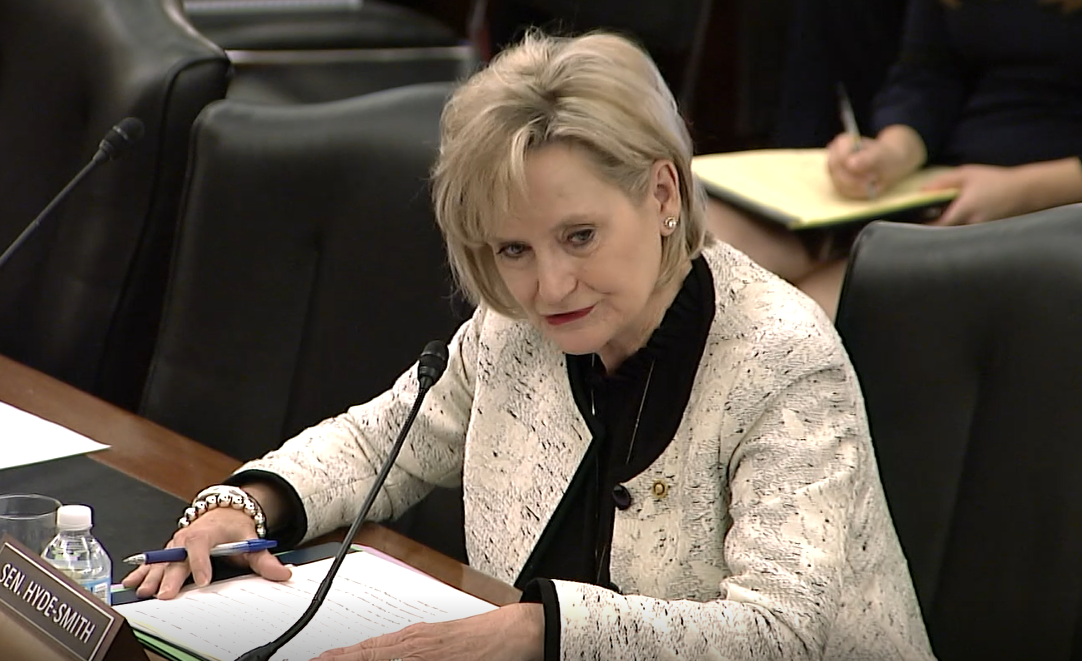 Senator Hyde-Smith Presses USDA on Environmental Reviews for Okhissa Lake Transfer