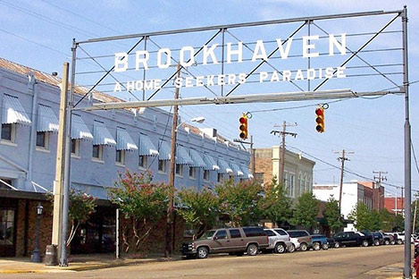 Photo of the Brookhaven town sign