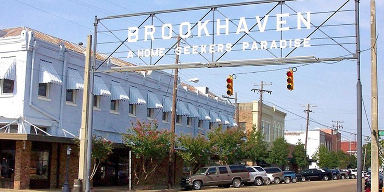 Photo of rural town Brookhaven