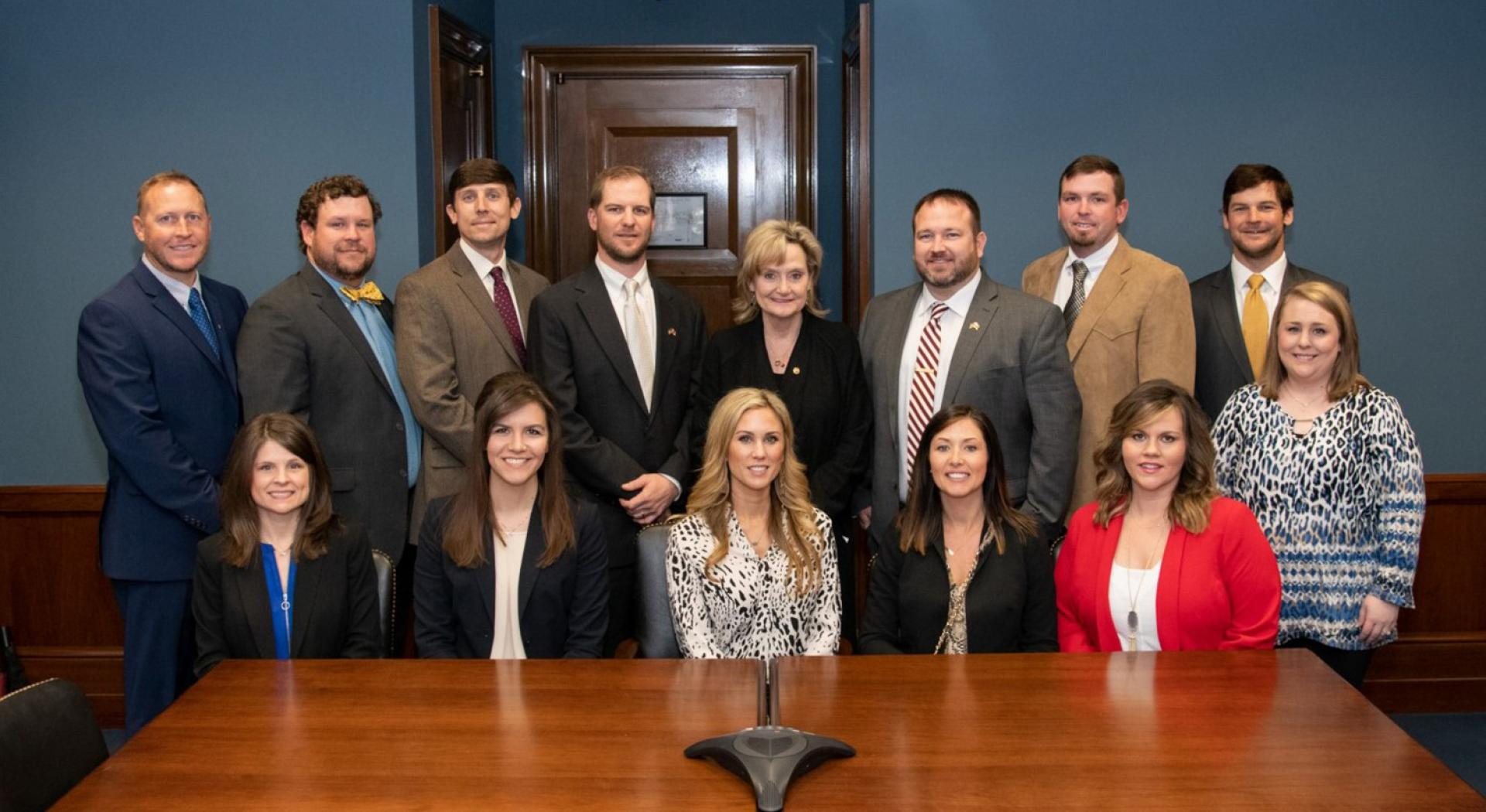 Senator Hyde-Smith meets with a Mississippi Young Farmers and Ranchers delegation